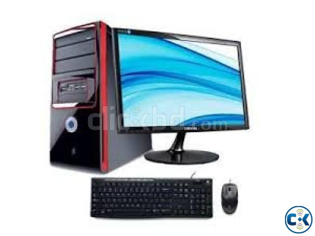 Desktop Core i5 19 LED Monitor 4GB RAM 500GB HDD PC | ClickBD large image 0