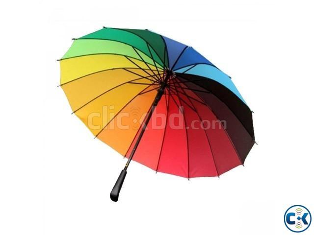 Rainbow Umbrella | ClickBD large image 0