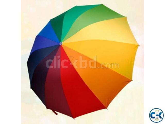 Rainbow Umbrella | ClickBD large image 1