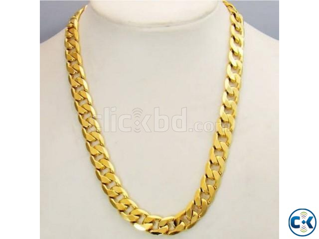 Gold Plated Chain for Men | ClickBD large image 0