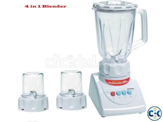 4in 1 Blender 4 8 Speeds Electric Food Blender DL-718  | ClickBD large image 0