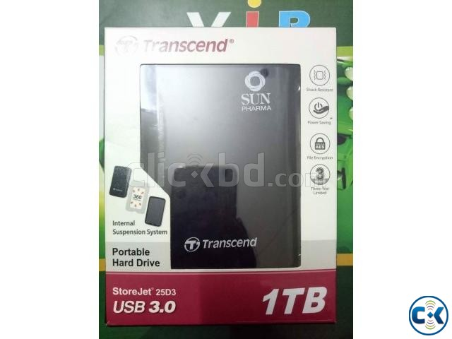 1TB Portable Hardrive Transcend  | ClickBD large image 0