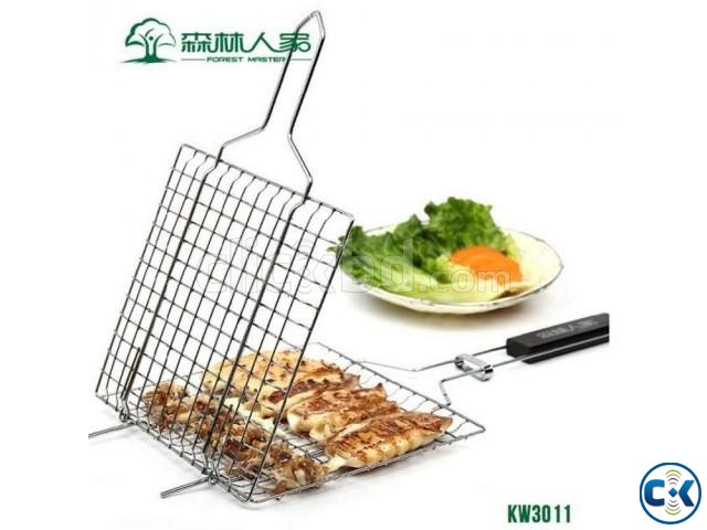 BBQ Meshes Clamp Food Clip Barbecue Grill Accessories | ClickBD large image 0