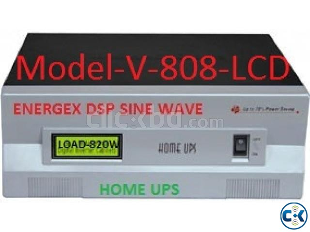 Energex Pure Sine Wave UPS IPS 800VA 5yrs WARRENTY | ClickBD large image 0