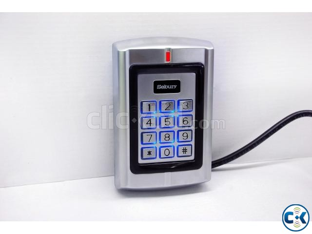 Standalone metal access control device model BC2000 | ClickBD large image 2