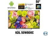 ''50 inch Sony 3D TV W800C Smart Android FHD LED TV''