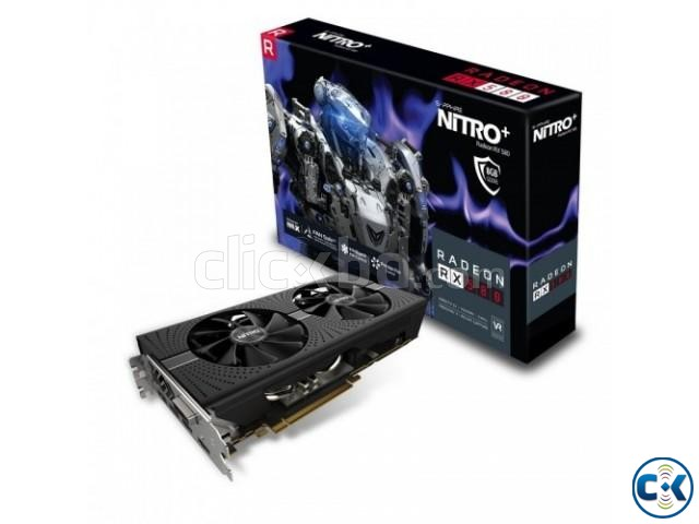 Sapphire Nitro RX580 8GB DDR5 Graphics Card | ClickBD large image 0