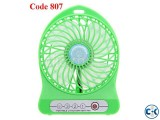 High Quality Portable Fan with Emergency with powerbank