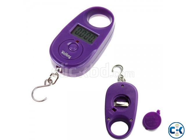 Mini Electronic Digital Hanging 25kg x 5g | ClickBD large image 0
