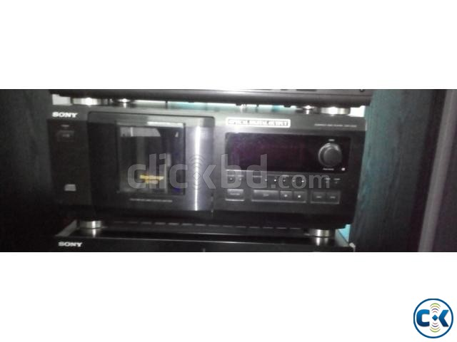 SONY 51 DISC CD PLAYER | ClickBD large image 0