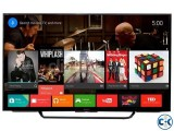 3D Sony bravia W800C 43IN LED TV has 1080p full 3D TV