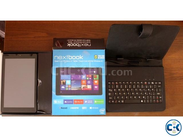 Intel Nextbook NXW8QC16G Inexpensive 8 16GB Windows Tablet | ClickBD large image 0