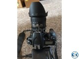 Nikon D750 Camera with Lens.
