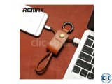 Remax Metal Key chain Data Charger Cable