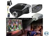 Dolphin Mini LED 3D Projector And TV