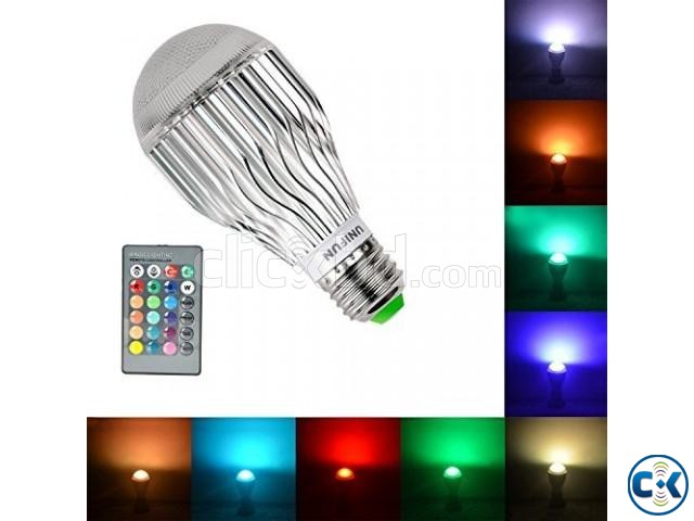 Remote Led RGB Bulb 16 Color 3W | ClickBD large image 0