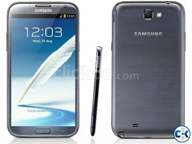 samsung galaxy note ii n7100 with 2 new battery clickbd. Black Bedroom Furniture Sets. Home Design Ideas