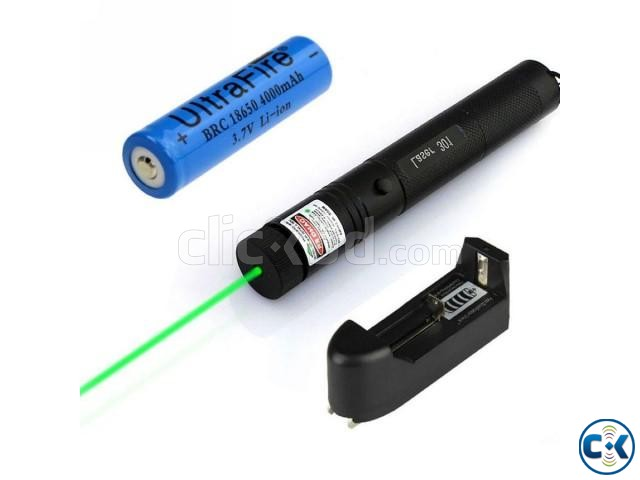 Rechargeable Green Laser Pointer-  | ClickBD large image 2