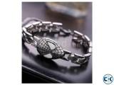 Spider Man Titanium Steel Bracelet- Silver.