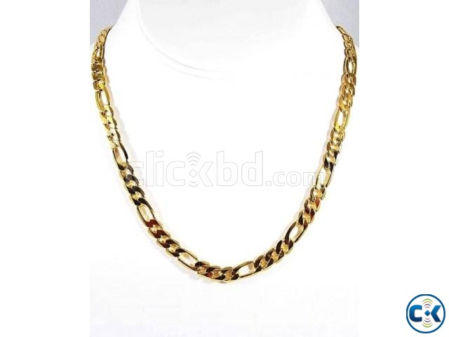 Gold Plated Men s Chain Necklace | ClickBD large image 0