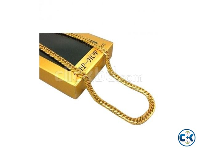 Golden Metal Chain | ClickBD large image 0