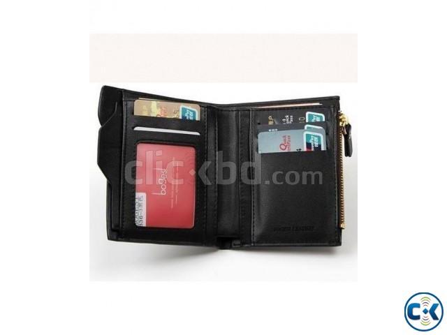 Bogesi Men s Wallet - Black | ClickBD large image 1