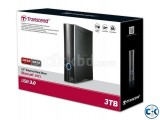 3TB Transcend StoreJet 35T3 USB3.0 Portable Hard Drive