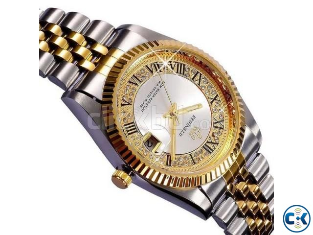 REGINALD Golden Lady Watch | ClickBD large image 0