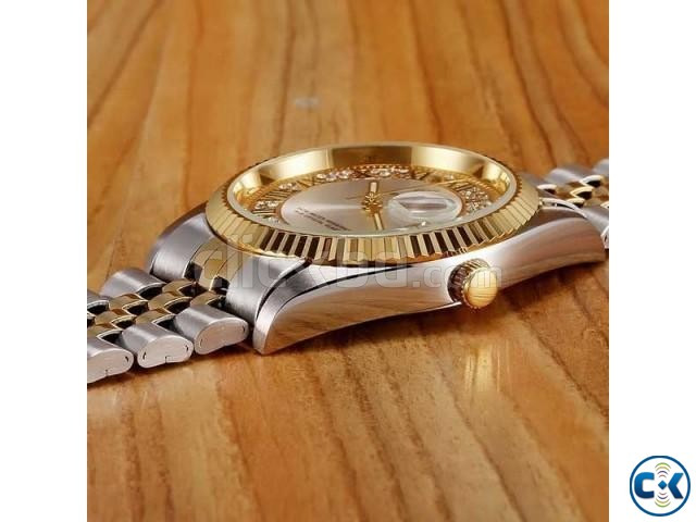 REGINALD Golden Lady Watch | ClickBD large image 1