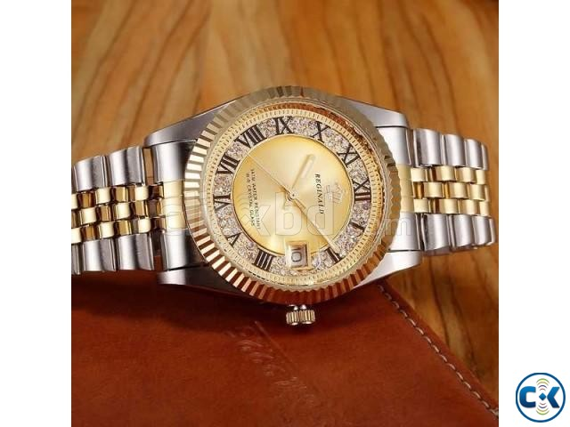 REGINALD Golden Lady Watch | ClickBD large image 2