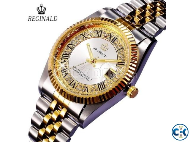 REGINALD Golden Lady Watch | ClickBD large image 4