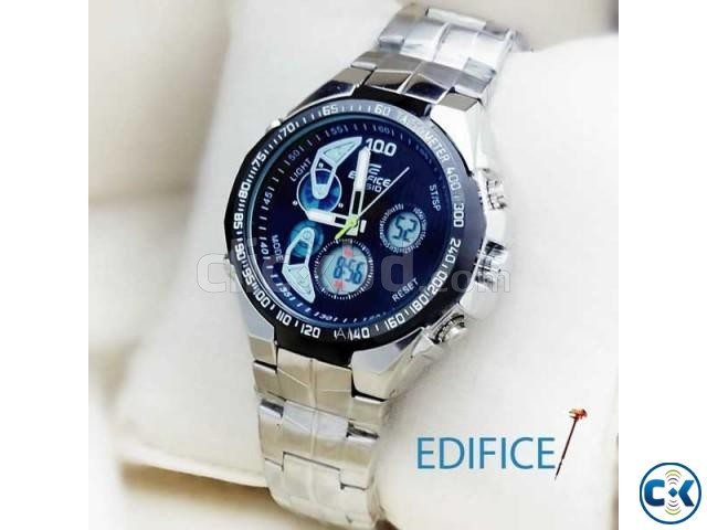 EDIFICE MENS WRIST WATCH Black Dial | ClickBD large image 0