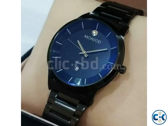 Movado Pure black Watch | ClickBD large image 0