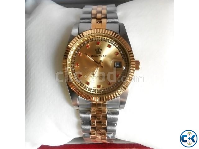 Reginald Red Diamond lady Watch | ClickBD large image 0