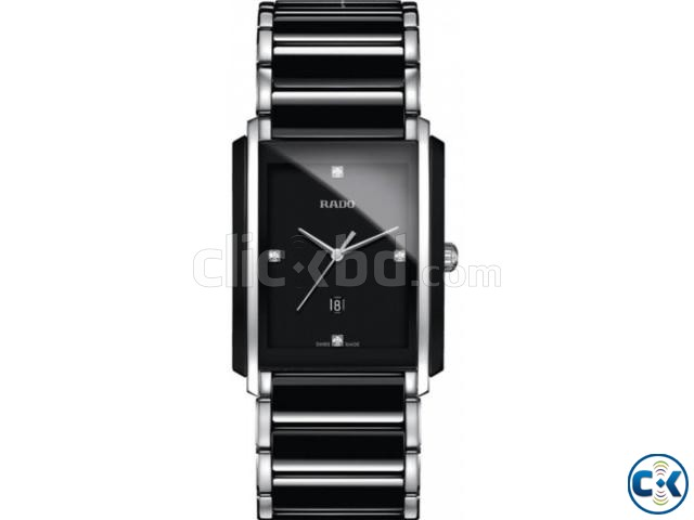 Rado Integral Watches Silver Black | ClickBD large image 0