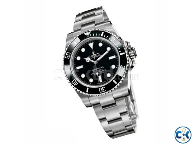 Rolex Silver chain Black Dialer | ClickBD large image 0