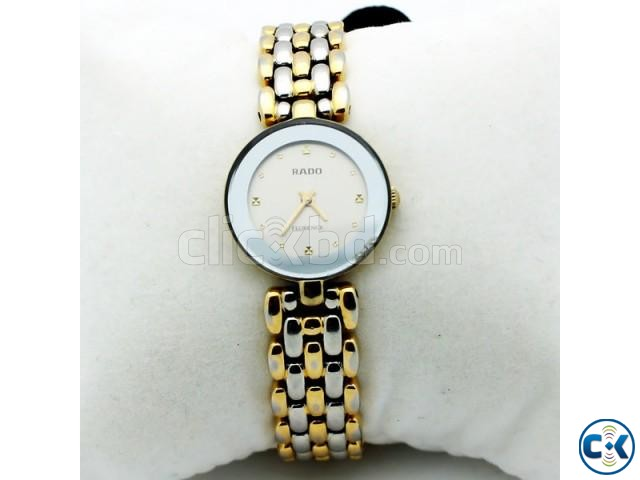 Rado Florence Two Tone White Dial | ClickBD large image 1