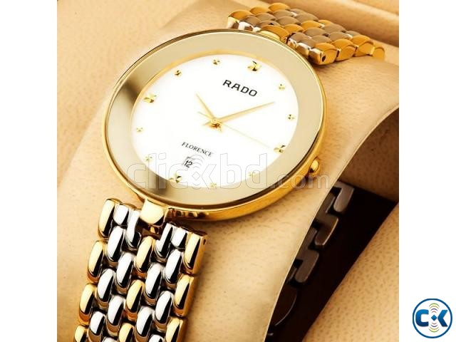 Rado Florence Two Tone White Dial | ClickBD large image 2