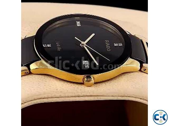 Rado Integral Watches Golden Black | ClickBD large image 0