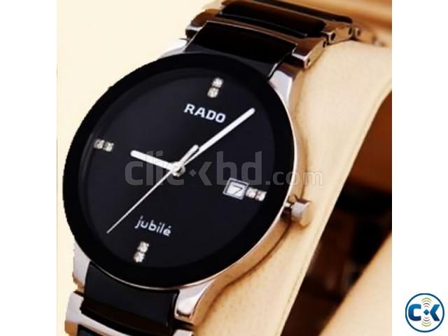 Rado Centrix Jubil Watch Silver Black | ClickBD large image 0