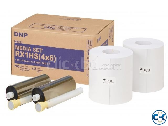 DNP DS RX1 Digital Photo Printer 1 Roll Paper with Install | ClickBD large image 1