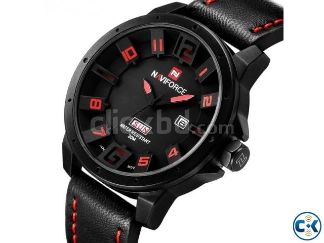 NAVIFORCE 9061 Luxury Brand Military Watches | ClickBD large image 0