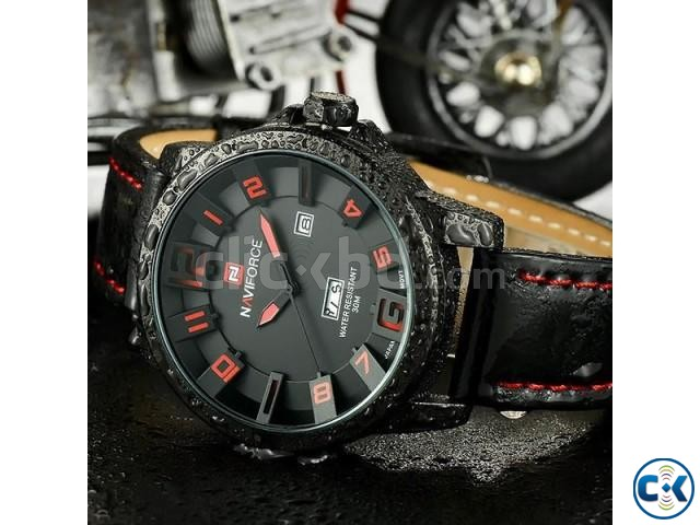 NAVIFORCE 9061 Luxury Brand Military Watches | ClickBD large image 1