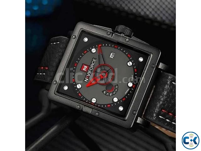 NAVIFORCE NF9065M True Combination of Red and Black Watch | ClickBD large image 1