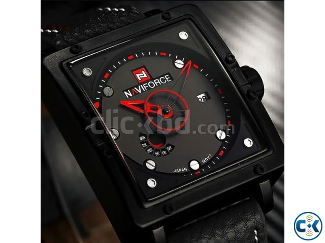 NAVIFORCE NF9065M True Combination of Red and Black Watch | ClickBD large image 2