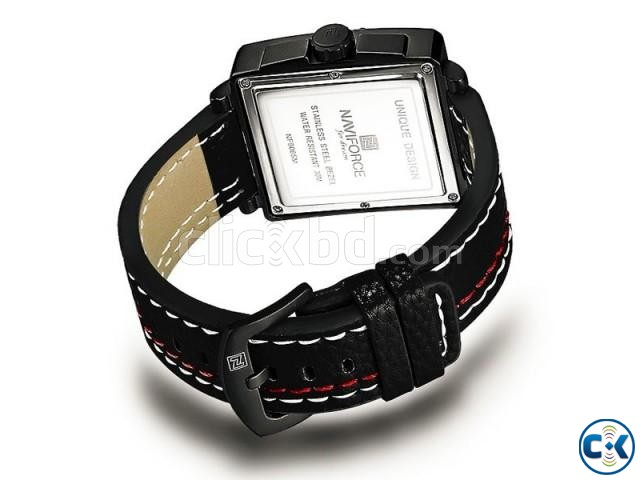 NAVIFORCE NF9065M True Combination of Red and Black Watch | ClickBD large image 3