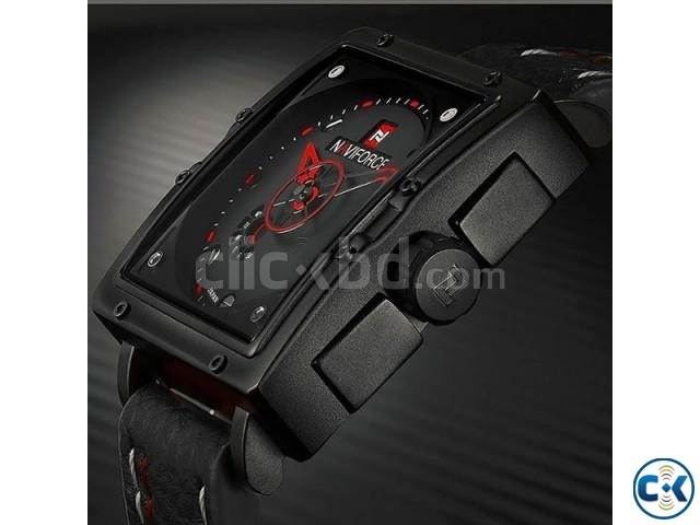 NAVIFORCE NF9065M True Combination of Red and Black Watch | ClickBD large image 4