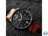 Curren 8224 Men Leather Strap