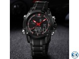 NAVIFORCE 9050 Full Steel Military Sport Watch