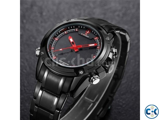 NAVIFORCE 9050 Full Steel Military Sport Watch | ClickBD large image 1
